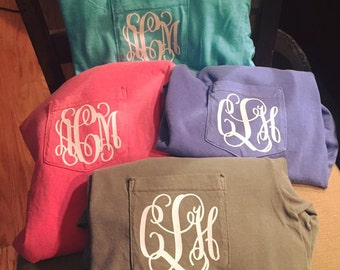 Apparel Monogramming for Adults & Children