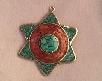 Beautiful Tibetan-Style Pendant