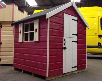 Budget Painted Playhouse