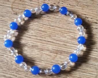 Quartz Elasticated Bracelet