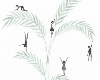 Ferns - Art Print