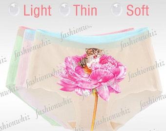 Cat panties, Lingerie  Panties, birthday gift, Cat face, Kitty panties, Gift for her, Cat underwear, Funny underwear, 3D panties
