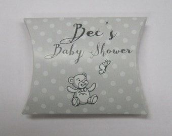 Baby Shower Favour Box / pillow box