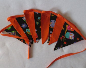 Owl Twit Twoo Bunting