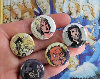 Preacher (comic) - Pack of 5 one inch pins