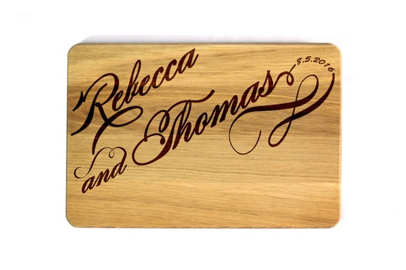 Personalized Wedding Gifts Kitchen : ... Personalized Cutting Board Personalized Wedding Gift Kitchen decor