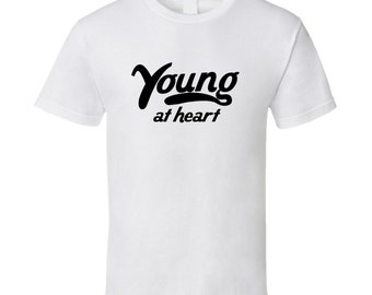 Young At Heart Vintage Style T-shirt