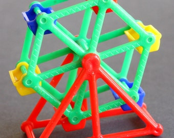 Miniature Ferris Wheel, Marvi No 10, Plastic