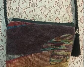 Dancing Cat - Vintage Shoulder Bag