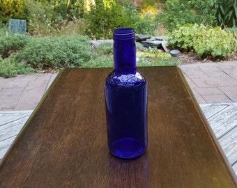 Cobalt Blue Ferolito Vultaggio And Sons 20 Ounce Ginseng Iced Tea Bottle