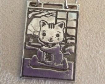 Neko the Lucky Cat Pendant