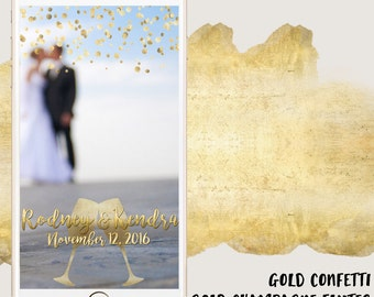 Classy Wedding Snapchat Geofilter [FULLY CUSTOMIZABLE]