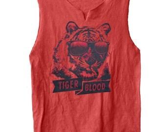 Tiger Blood - Charlie Sheen muscle shirt