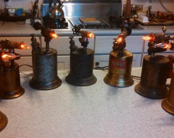 Antique Torch Accent Lamp