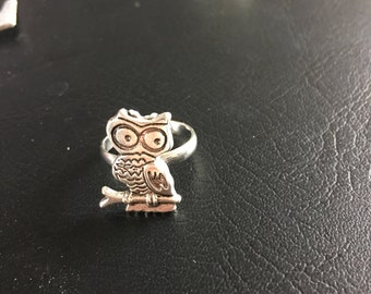 Cute Owl Ring