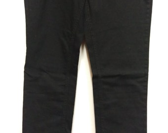 90s studded black jeans