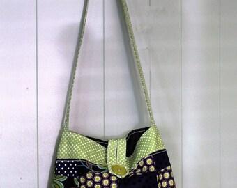 Handmade Sewn Quilted Handbag with interior