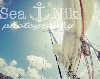 Sail Boat Travel Print