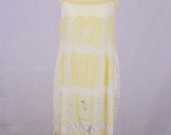 The Estelle-1920's vintage petticoat slip