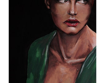 Painting: Woman 003