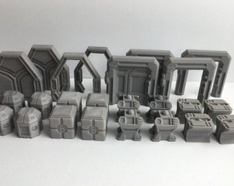 Star Wars Imperial Assault Tokens – Full Set