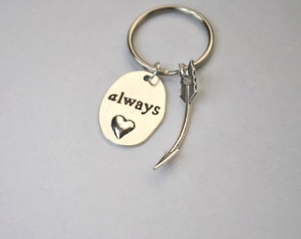 "The Hunger Games ""Always"" Keychain"