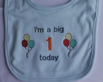 1st birthday bibs