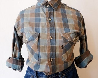 Original LEVI'S Plaid Shirt. Plaid Shirt. S | Indie | New herritage. Vintage