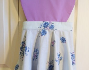 Fun Layered Apron with Heart Shaped Bib