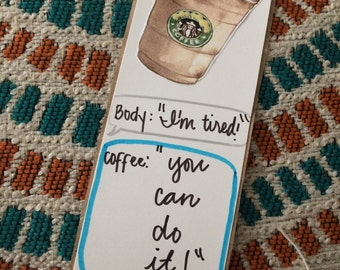 Frappe Lover -Texts- Bookmark