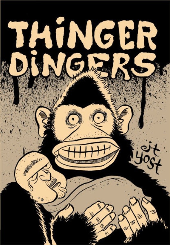 Thinger Dingers comic book by J.T. Yost