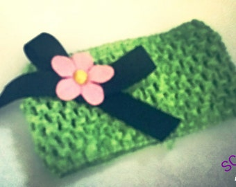 Lime Green Baby Headband
