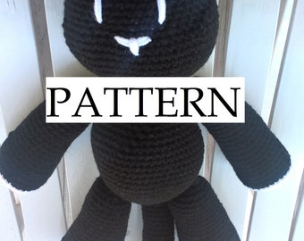 Mr. Mew The World Ends With You PATTERN Amigurumi Plush