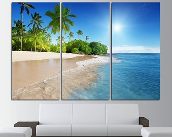 ocean canvas wall decor ocean view large wall art canvas print tropical island beach extra large
