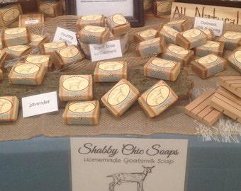 All-Natural Handmade Goats Milk Soap