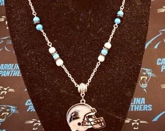 Carolina Panthers necklace