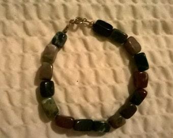 natural agate stone bracelet