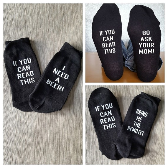 Personalise Socks