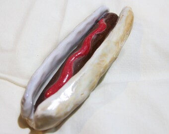 Ceramic Hotdog