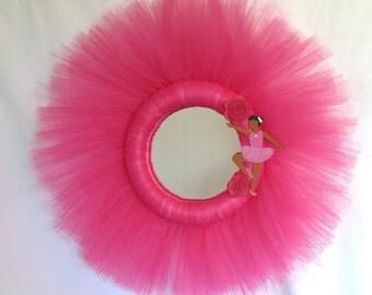 Flower Ballerina - Tulle Mirror