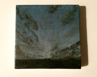 Tiny Storm Painting