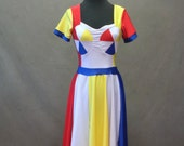 "MADE TO ORDER Katy Perry ""Beach Ball"" Inspired Dress with Sleeves"
