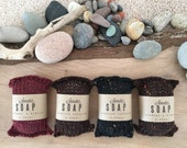Sweater Soap wool hand knit wrapped soap