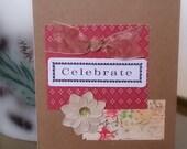 Birthday Card / Celebrate Handmade