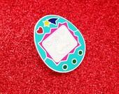 Virtual Pet Enamel Lapel Pin Badge - Tamagotchi