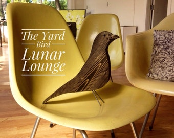 Ebony Yard bird Mid Centur Modern Design  by Jonathan Sebastian