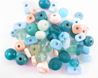 Handmade Lampwork Beads SRA Beach Mix