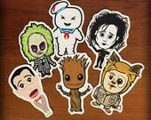 Retro Pop Culture Sticker Pack