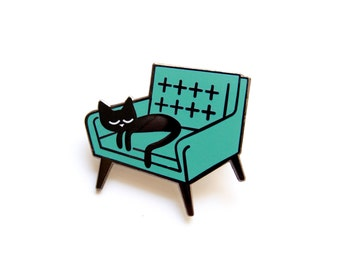 Cat Nap - Enamel Pin Badge