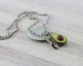 Spoonful of Avocado Necklace